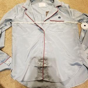 Abercrombie & Fitch Intimates & Sleepwear - Abercrombie & Fitch 3pc silk sleepwear PJ XS NWT